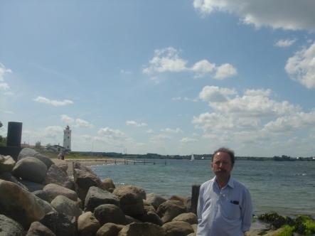 Fyn Island EU-172 and lighthouse DEN-047
